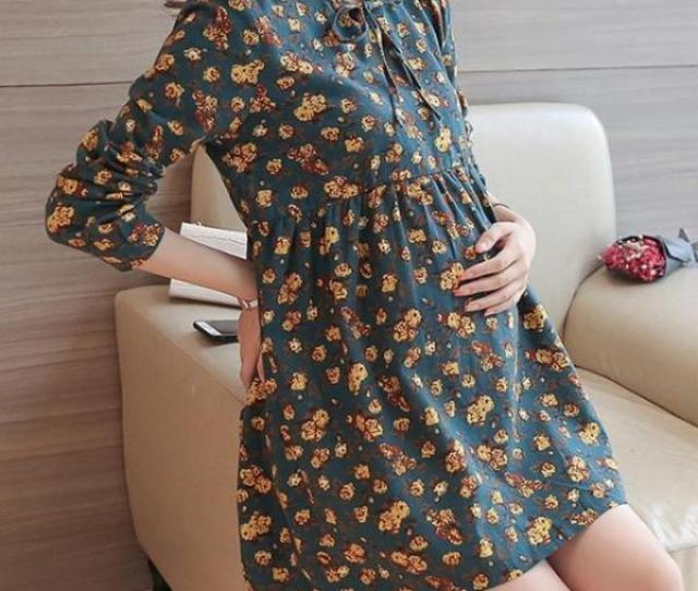 Short Spring Maternity Dress Maternity Clothes Booboooutlet