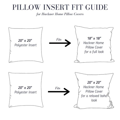 pillow insert fit guide tips for