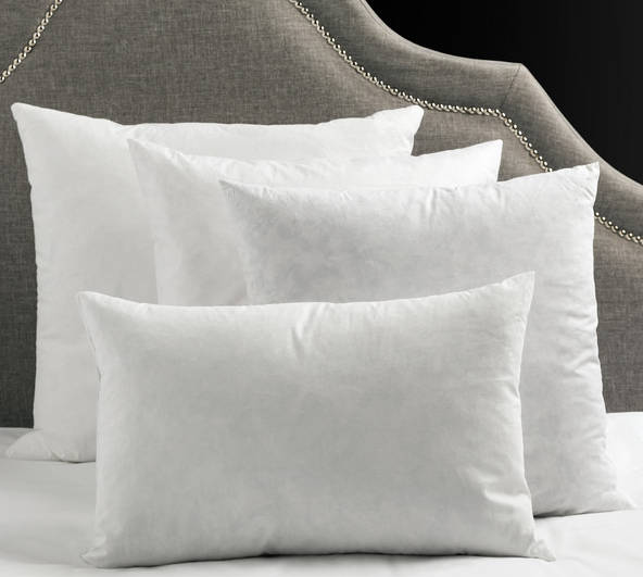 down feather pillow inserts