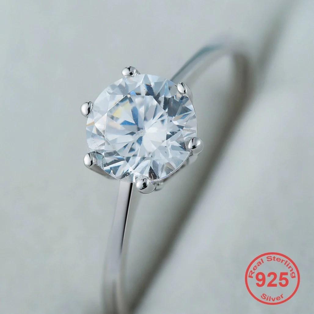 april birthstone s925 diamond