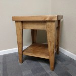 Concealment End Table Hidden Compartment Nightstand