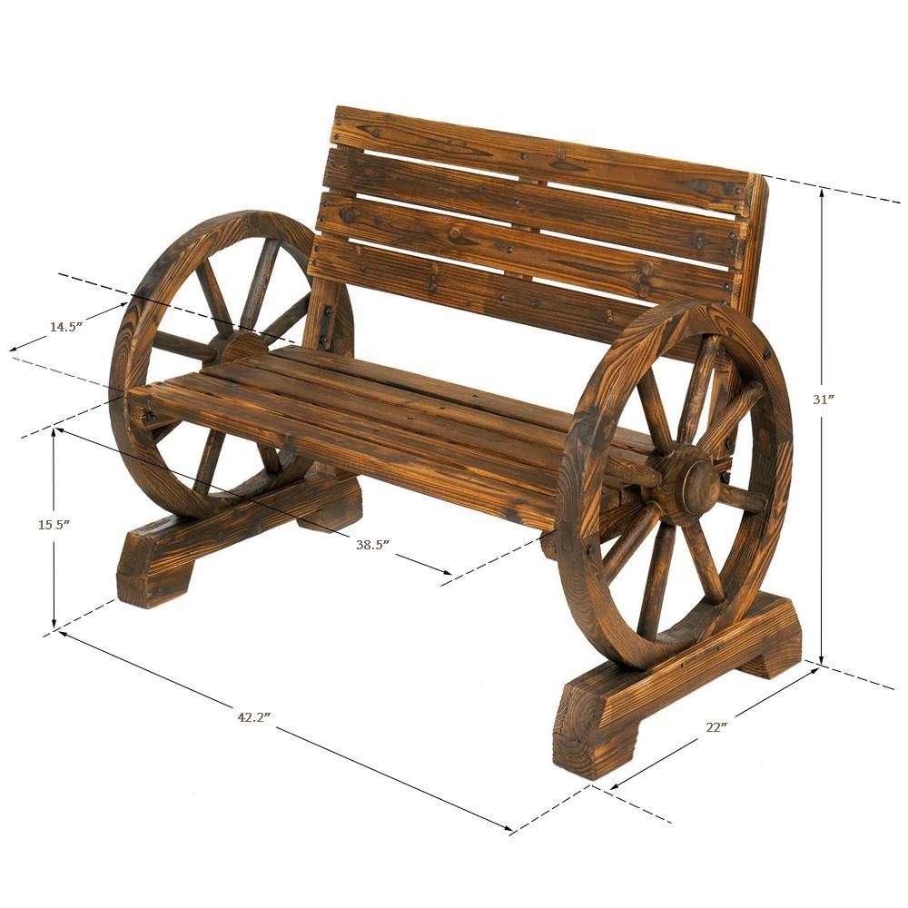 2 Seater Rocking Bench