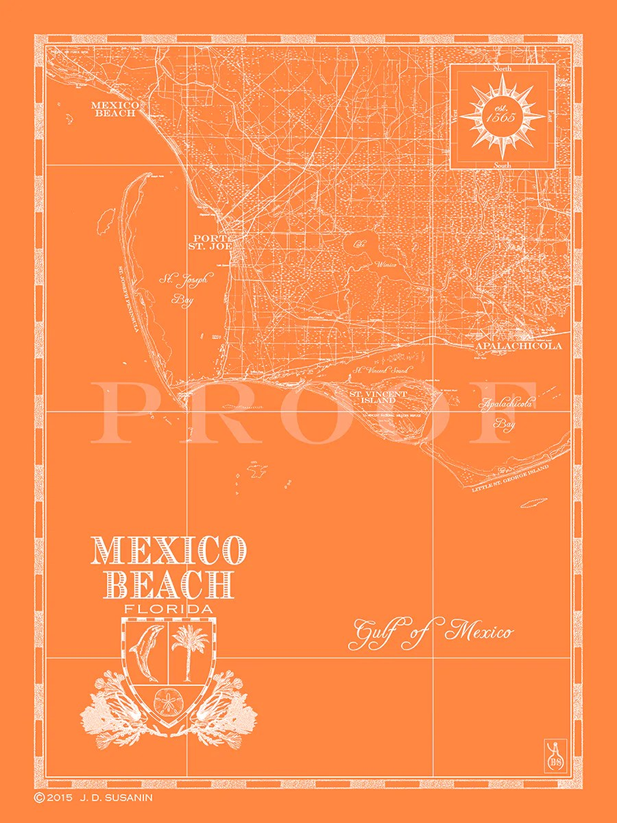 Mexico Beach Florida Map : mexico, beach, florida, Mexico, Beach, Florida, Maping, Resources