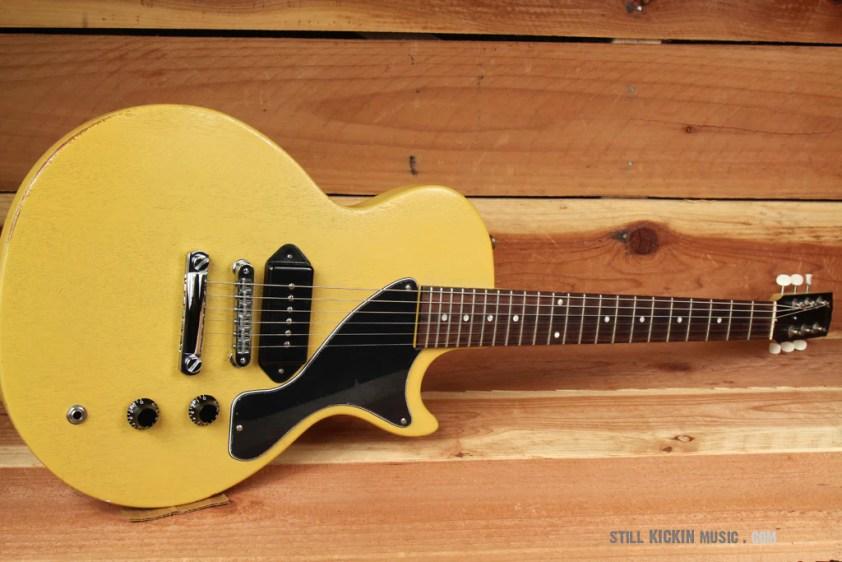GIBSON 2003 MELODY MAKER TV Yellow! Road Worn Dog-Ear P90 LP Jr ...