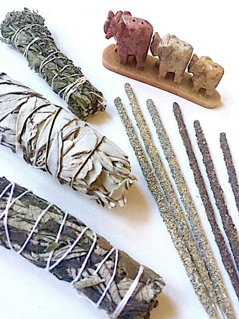 Image result for smudging and incense