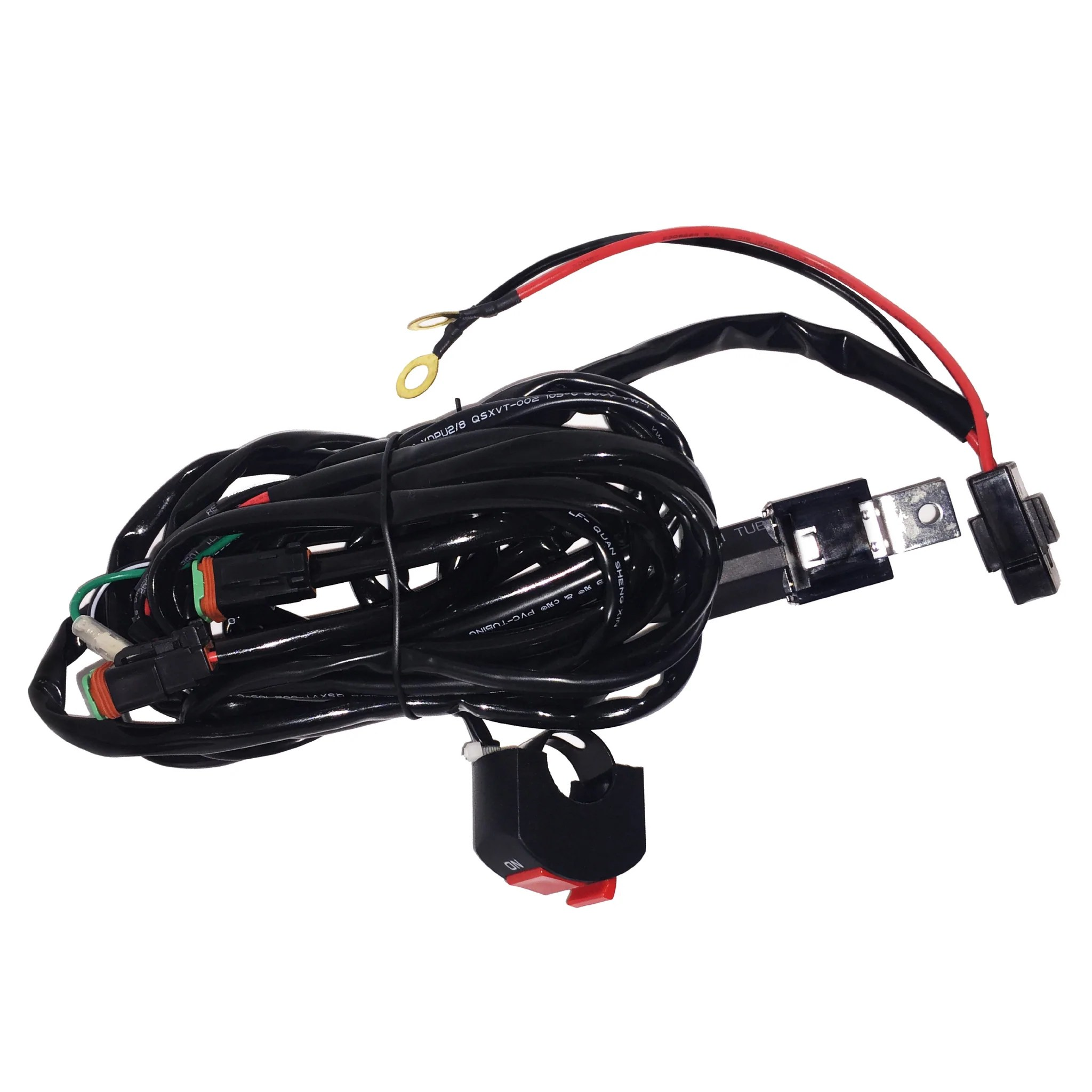hight resolution of extreme lights motorbike relay wiring harness for 2 x 10w lights the best motorbike