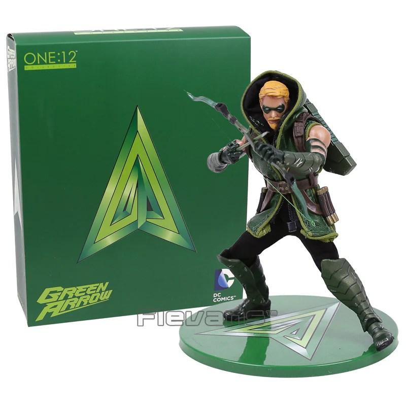 mezco dc comics green