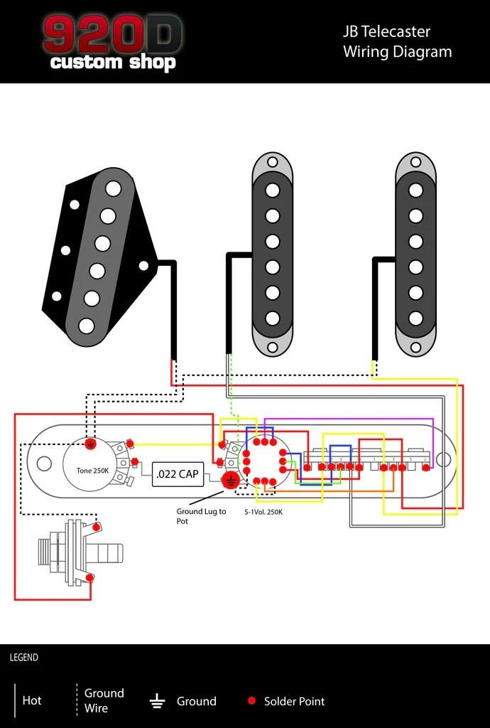 Fender Jaguar Wiring Diagrams Diagrams James Burton 5 Way 920d Custom