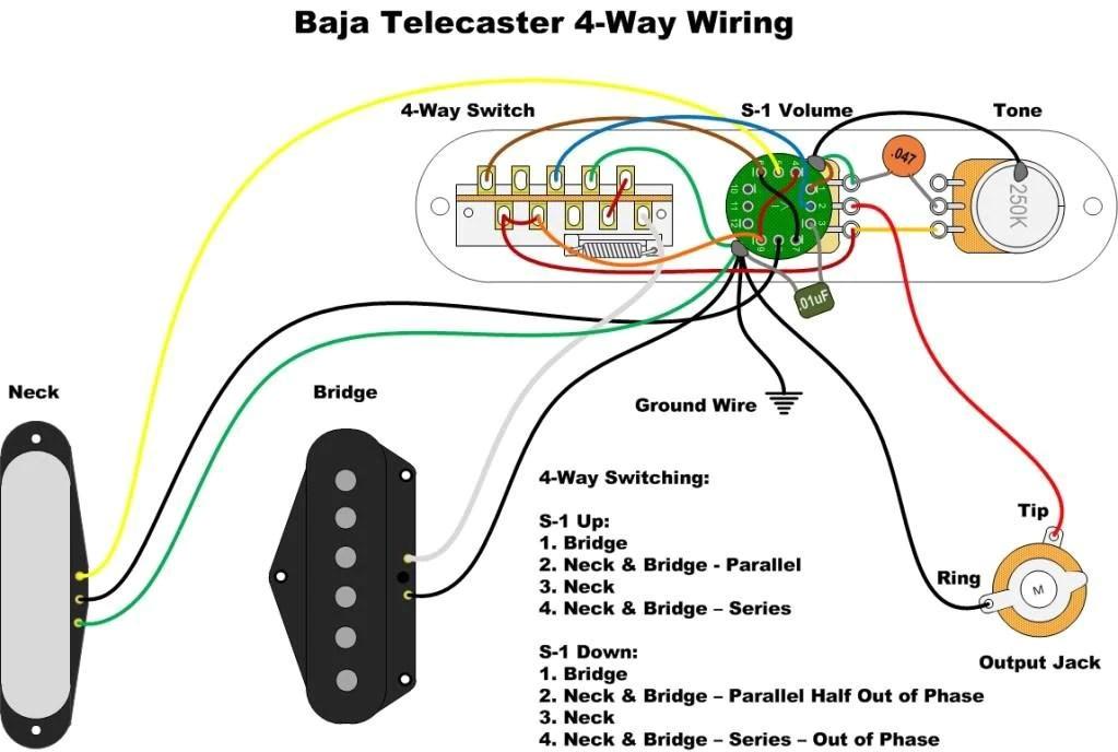 Sg Wiring Diagram Push Diagrams Telecaster 4 Way Baja 920d Custom