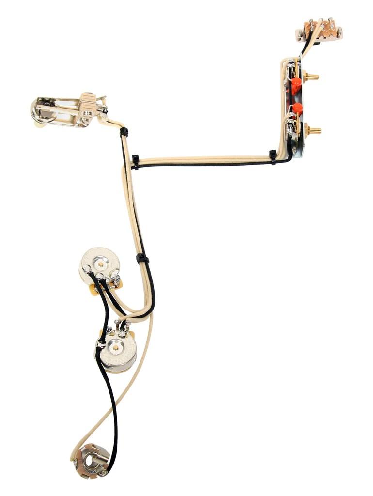 fender modern jazzmaster guitar pre wired wiring harness 2v2t w kill switch [ 770 x 1024 Pixel ]