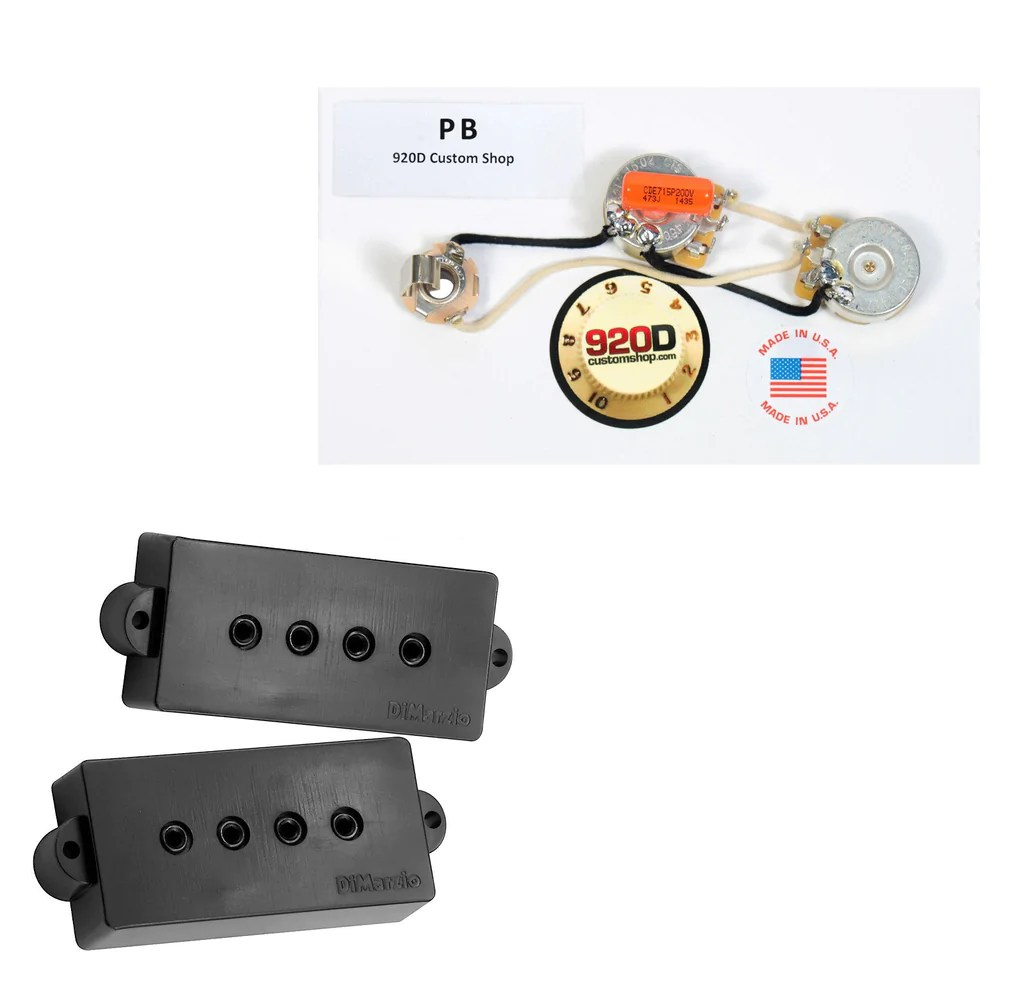 dimarzio model p dp122 for fender p bass guitar black pb harnessdimarzio bass pickup set [ 1024 x 993 Pixel ]