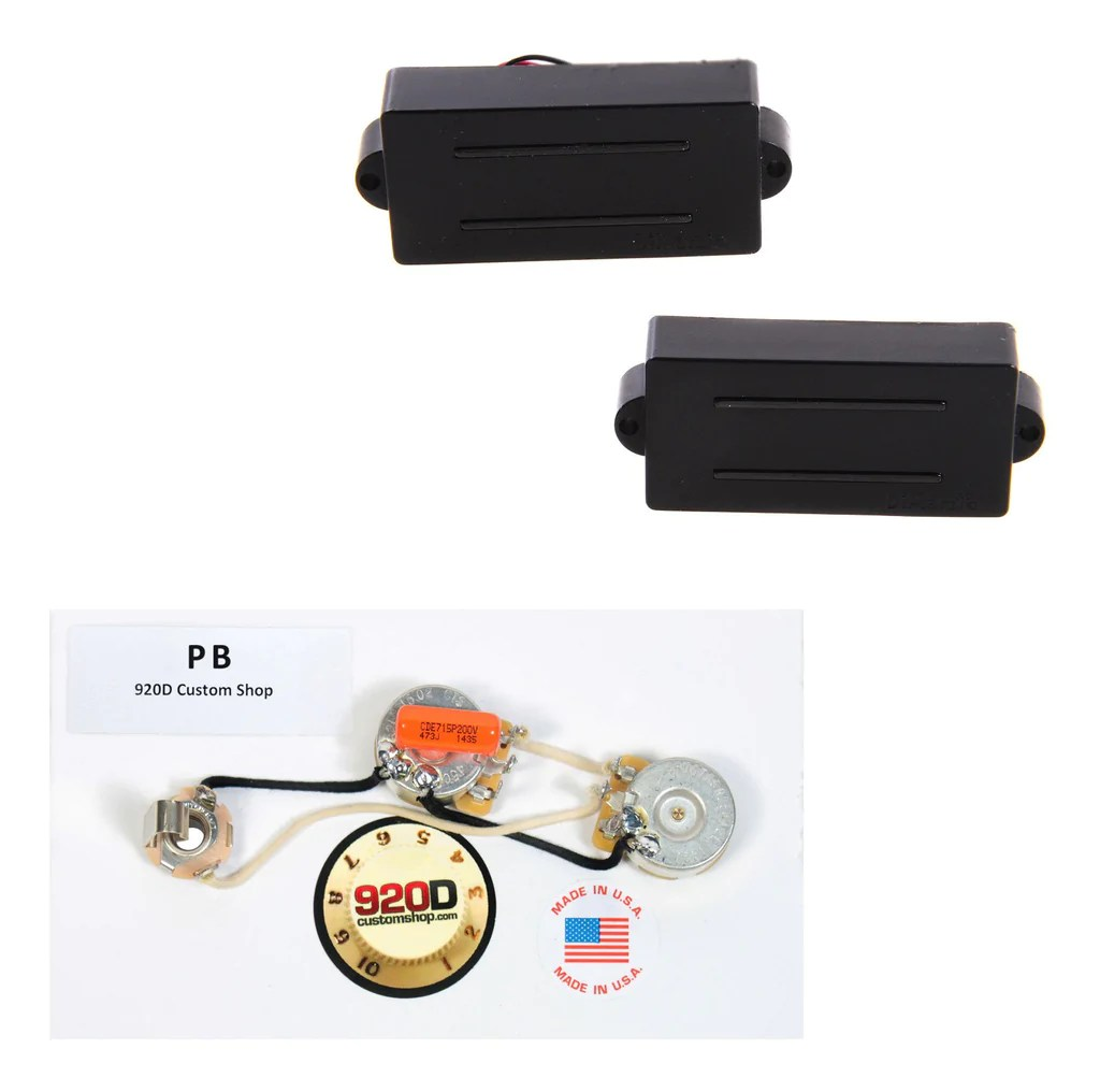 hight resolution of dimarzio bass pickup set