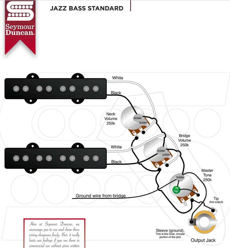 hight resolution of wrg 3497 fender squier bass guitar wiring schematictseymour duncan stk j2n j2b hot for fender