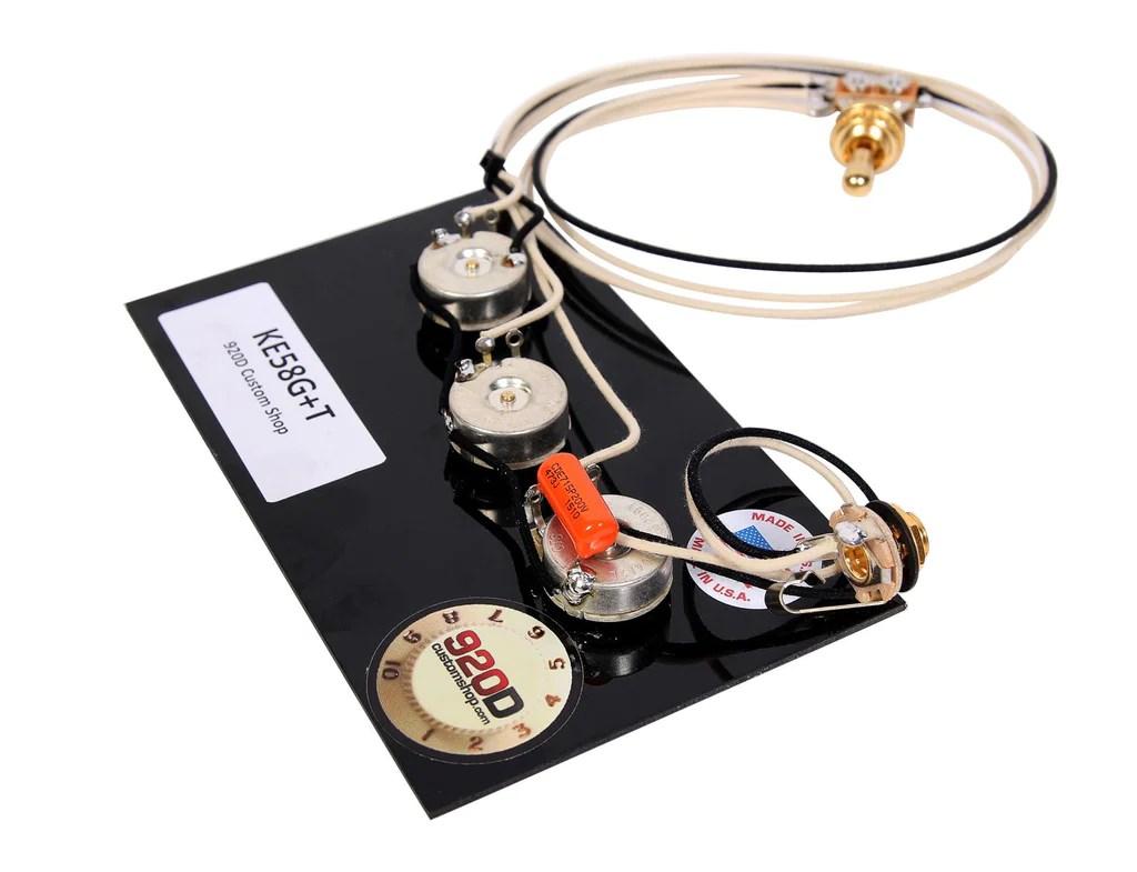 medium resolution of  920d custom shop gibson epiphone 1958 explorer wiring harness cts switchcraft