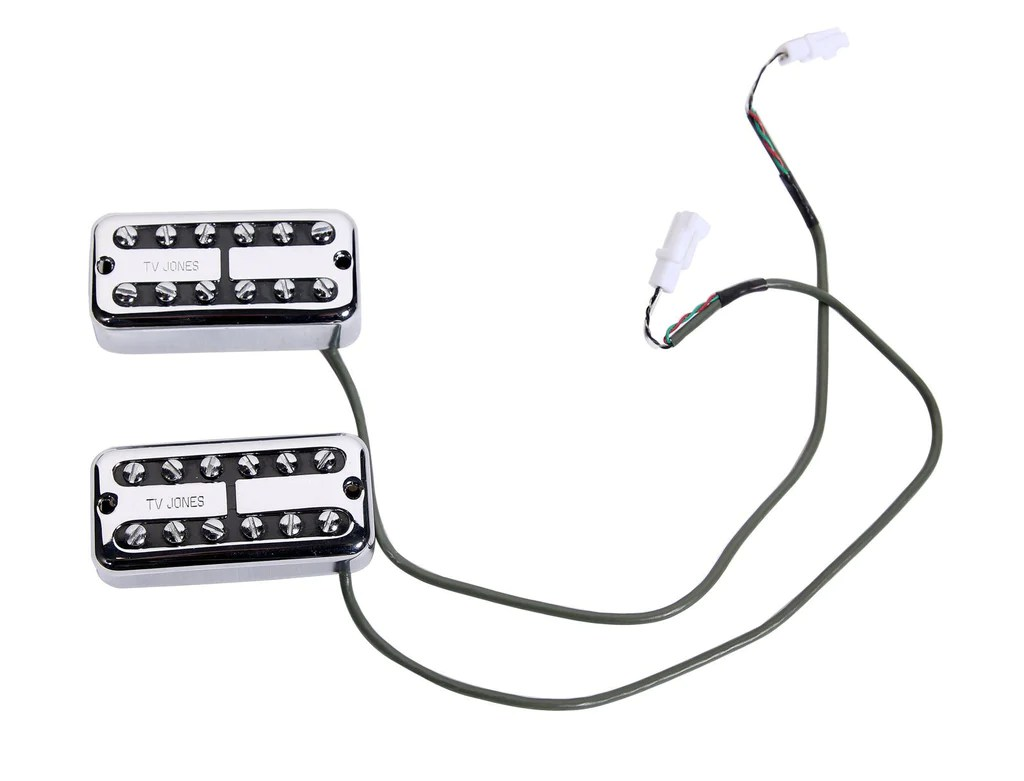 small resolution of  tv jones classic plus pickup set gretsch electromatic wiring harness w quick connect