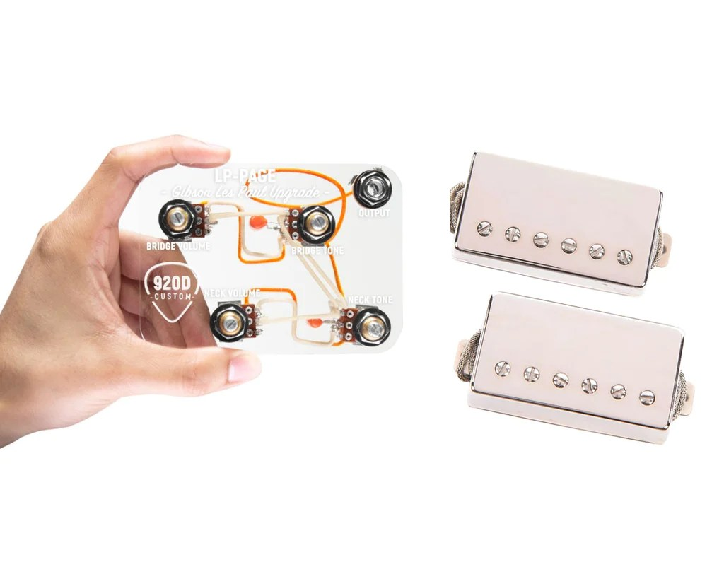 medium resolution of 920d custom lp page wiring upgrade lambertones crema humbucker pickups