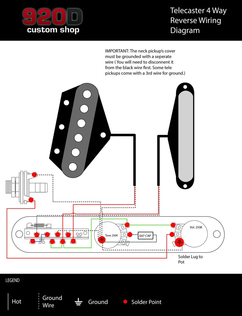 small resolution of fender tele telecaster 4 way reverse control plate w oak grigsby switch black