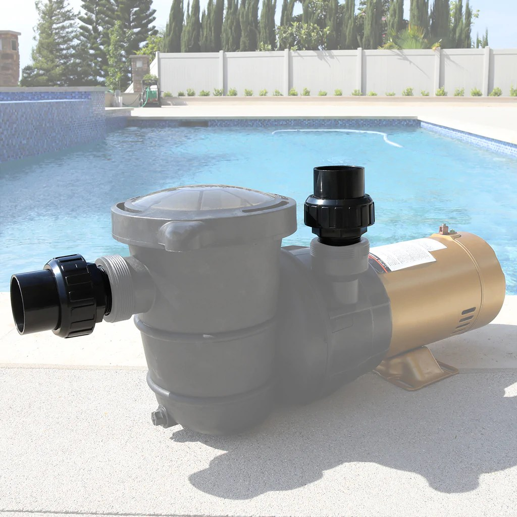 Pentair pool products part number: 2 Union Plumbing Joints 1 5 Npt X 1 5 Swimming Pool Spa Pump Slip Fi Xtremepowerus