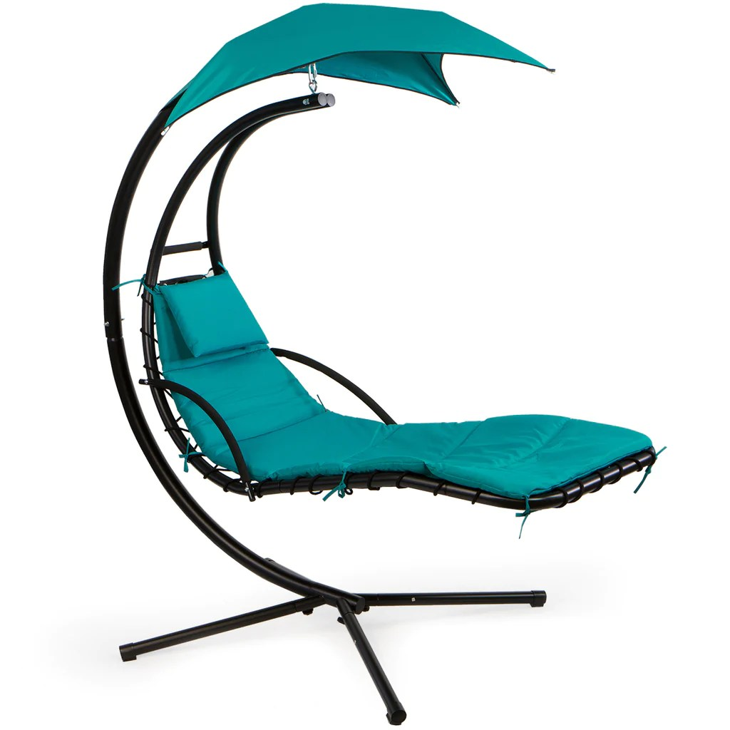 patio hanging helicopter dream lounger chair stand swing hammock chair