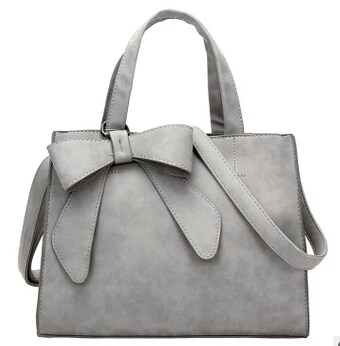 stylish purse with bow
