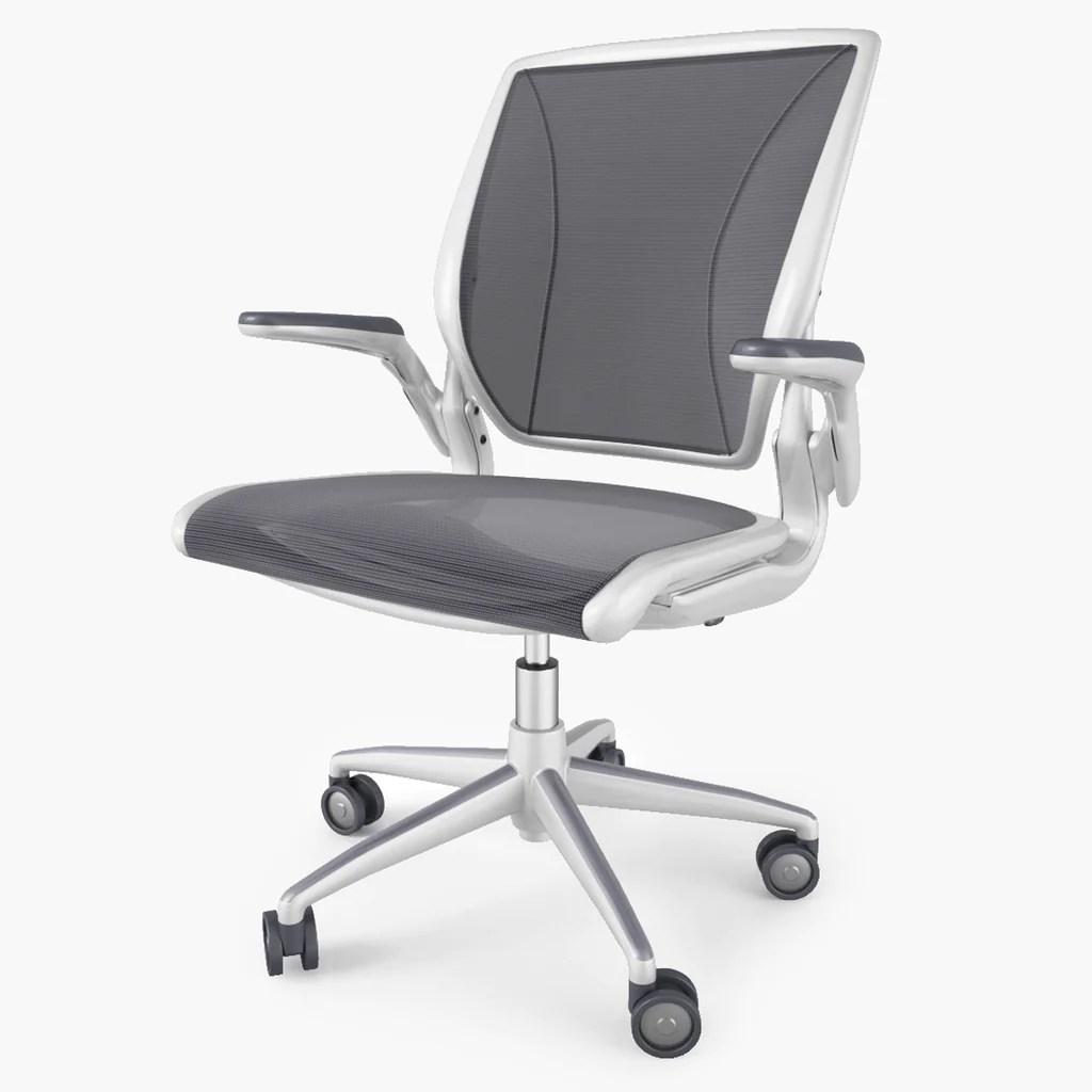 Humanscale Diffrient World Chair 3D Model  FaceQuad