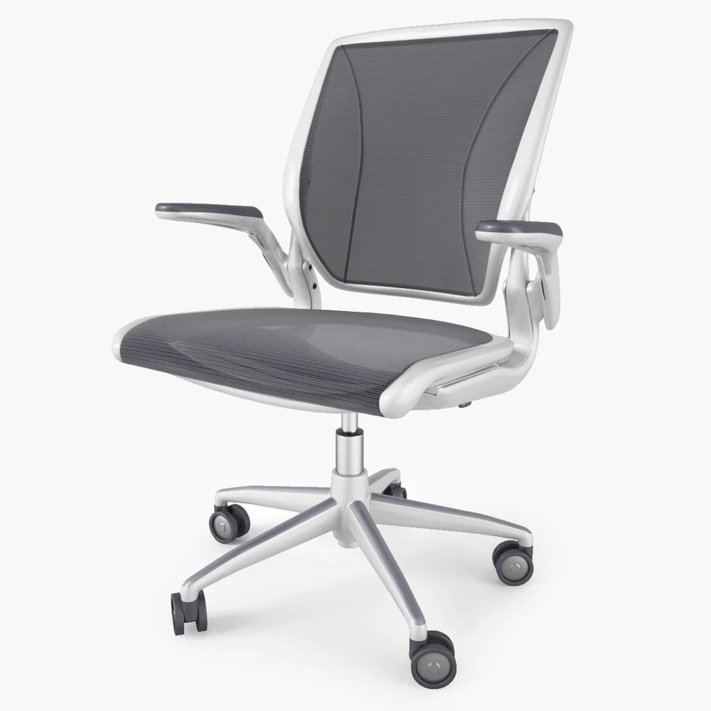 Humanscale Diffrient World Chair Humanscale Diffrient World Chair 3d Model Facequad