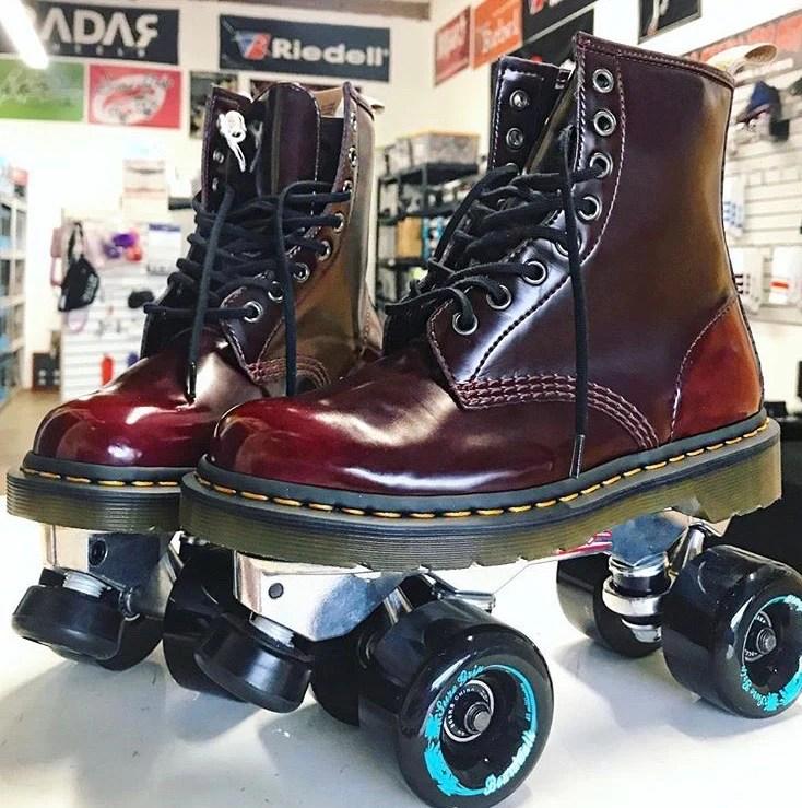 custom shoe roller skates