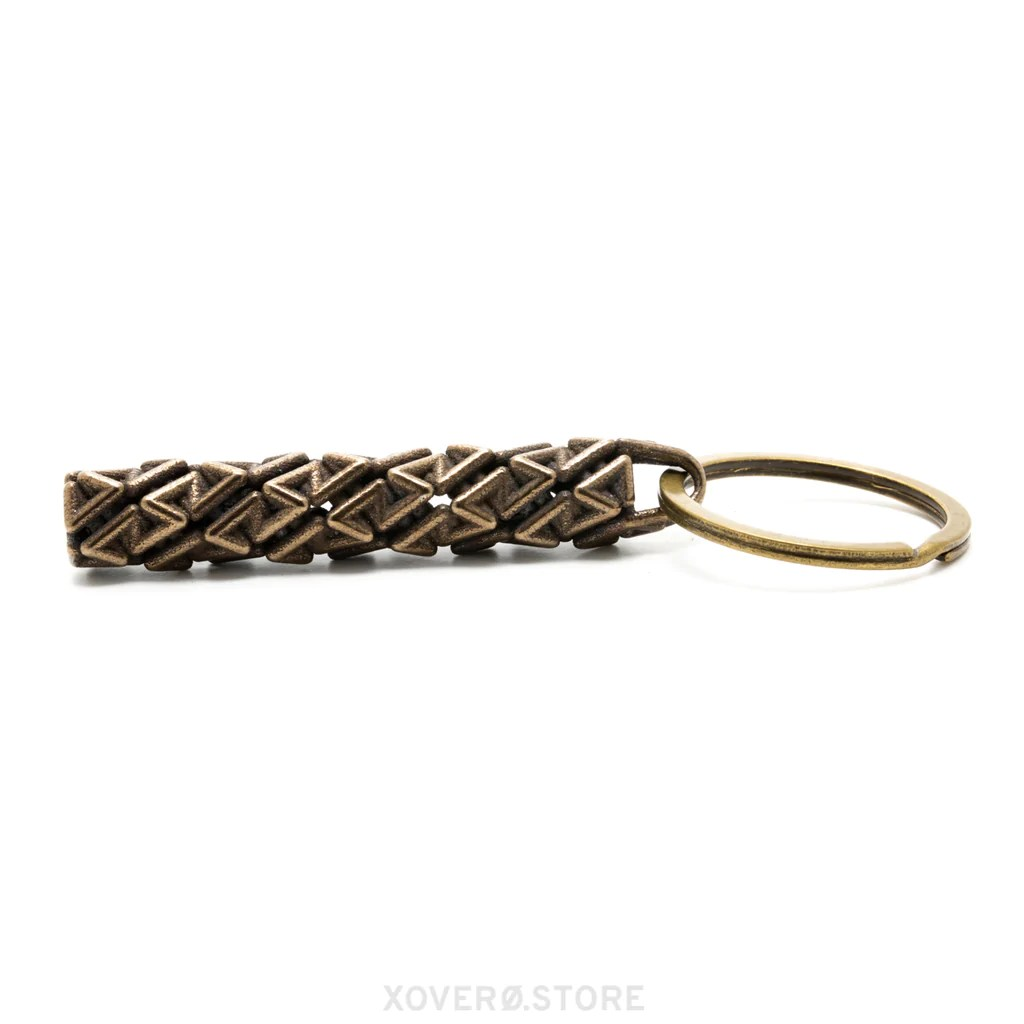 drogue 3d printed keychain
