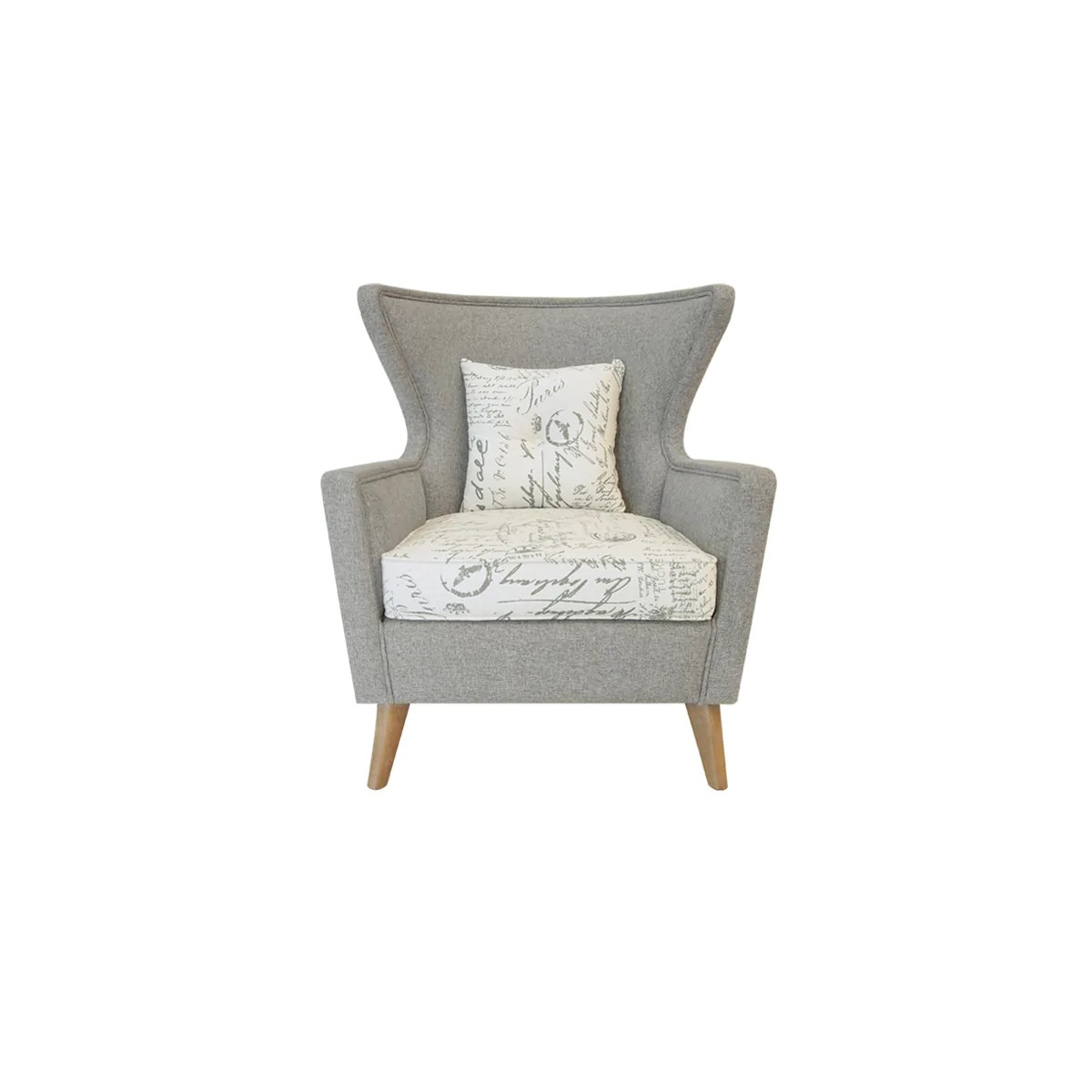 Modern Wing Chair Aksel Wing Chair