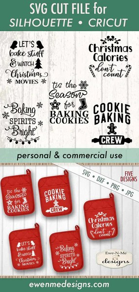 Pot Holder Svg : holder, Christmas, Holder, Bundle, Designs