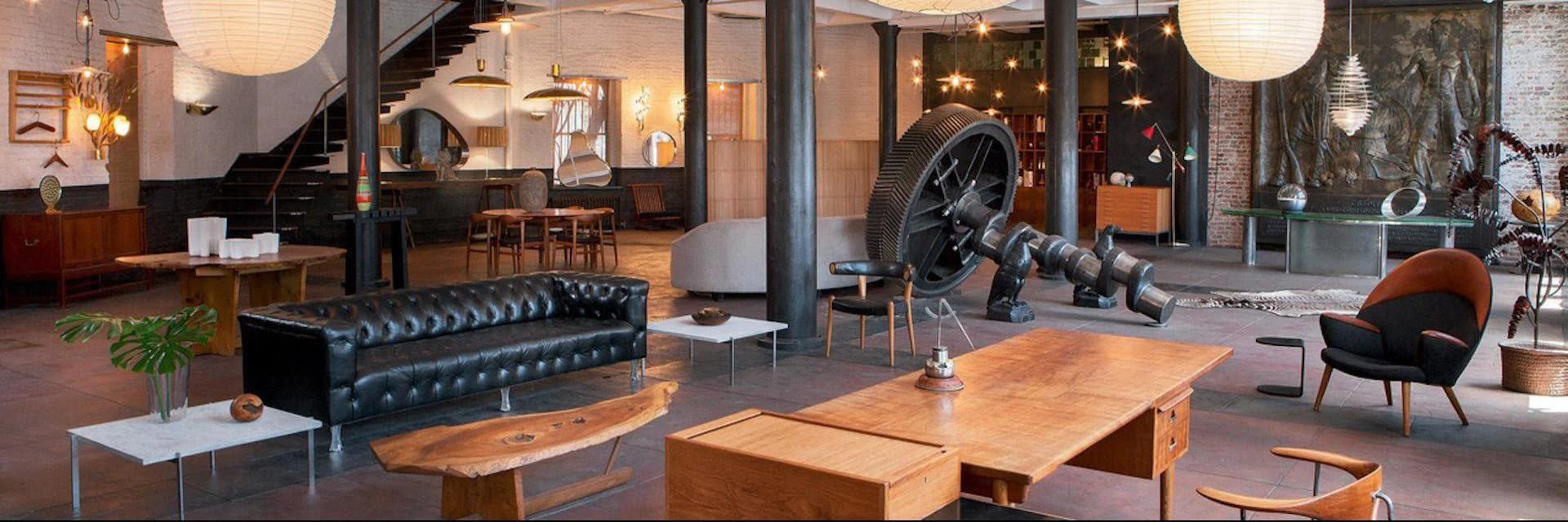 sectional sofas nyc showroom holly hunt mesa sofa dimensions wyeth mid century modern furniture home decor the hamptons new york
