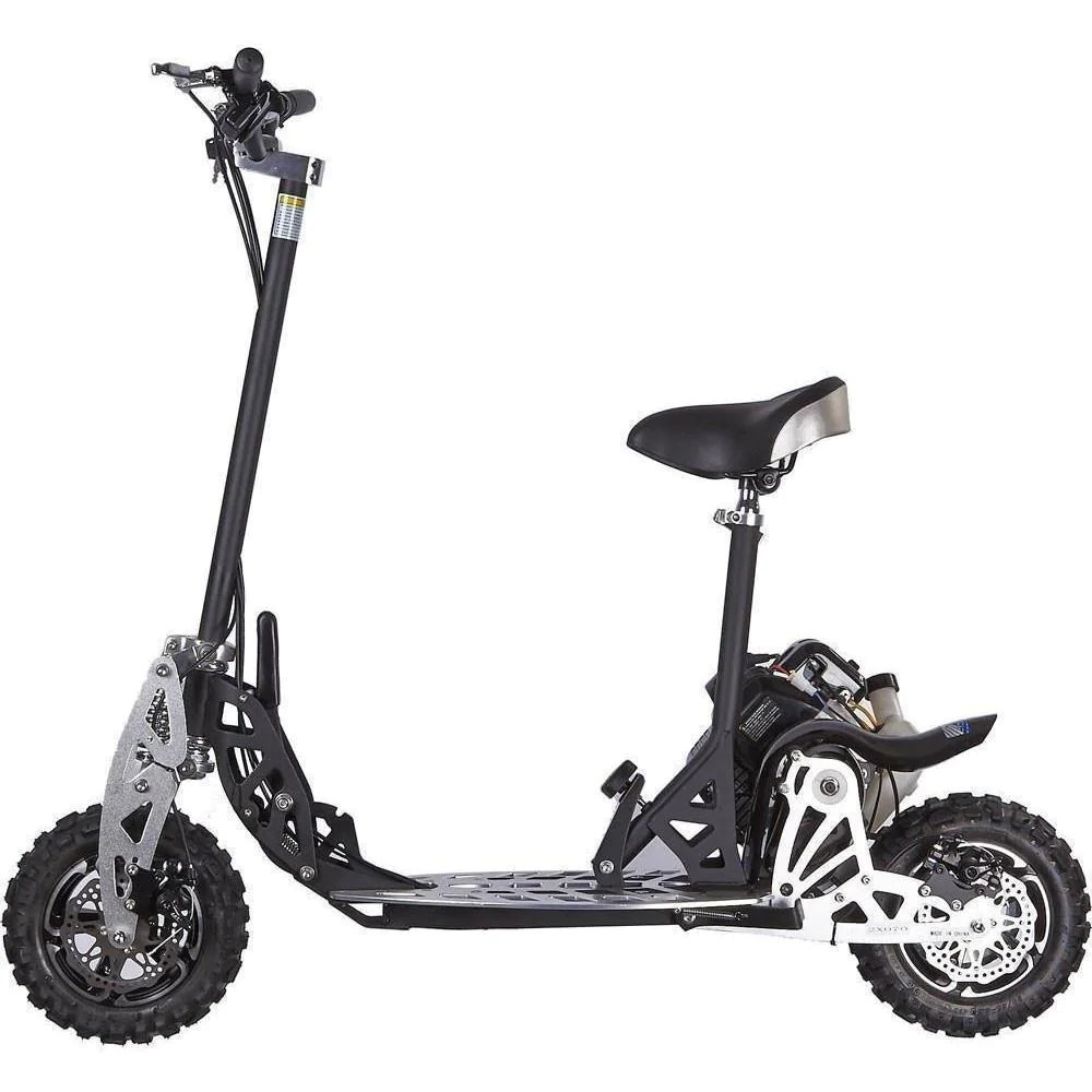 small resolution of uberscoot 2x 50cc gas powered folding folding scooter by evo powerboards gas scooter ridetique
