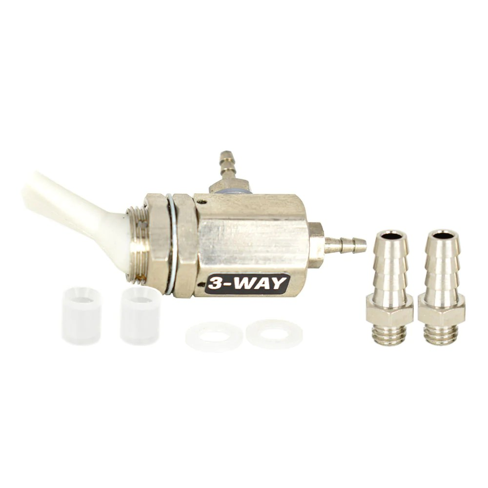 replacement on off toggle valve 3 way gray [ 1000 x 1000 Pixel ]