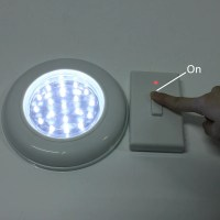 LED Wireless Cordless Ceiling Wall Light with Remote ...