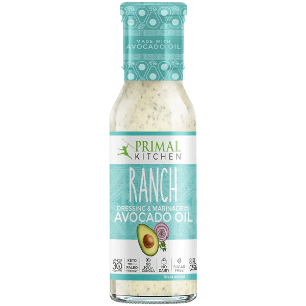 Primal Kitchen Ranch Dressing made with Avocado Oil