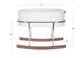 Rockwell bassinet - modern rocking bassinet dimensions- Portable Bassinet