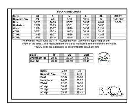 also becca size chart rh southbeachswimsuits