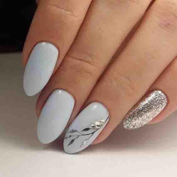 graduation nails design