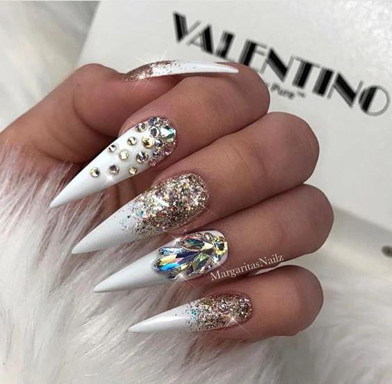 stiletto nails design trendy