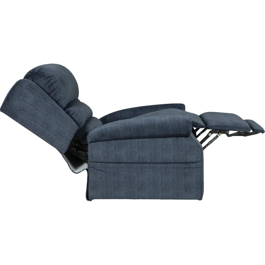 mega motion lift chairs chair gym total body workout manual nm2750 three position w power headrest denim