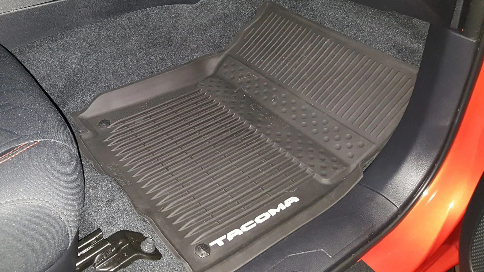 Car Mats must be secured for your safety  Eagle Klaw