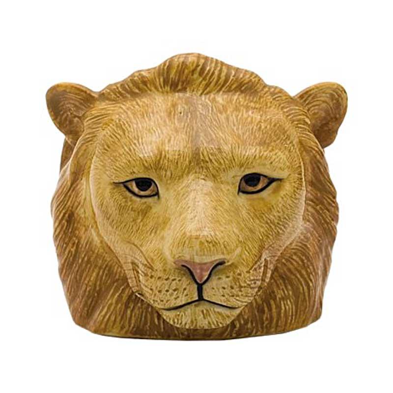 lion face egg cup