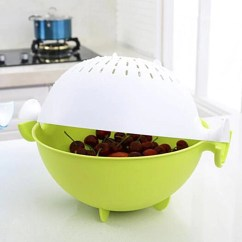 Kitchen Fruit Basket Florida Design Ideas Draining And Vegetable Washer Regulustlk