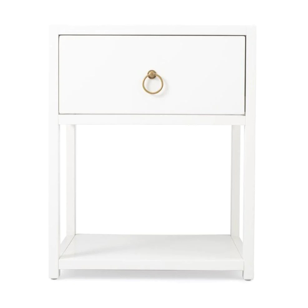 brooks white table