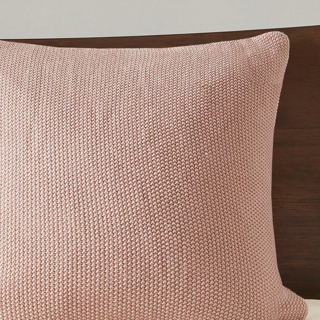 knit euro pillow sham