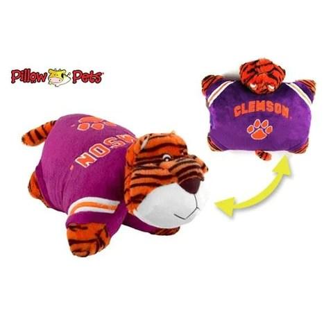 clemson tigers pillow pet