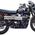 British Customs Shotgun Exhaust For Triumph Street Scrambler