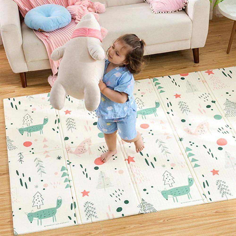 tapis de jeu pliable pour enfants