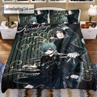 Black Butler Kuroshitsuji Bedding Set, Sheets & Covers ...