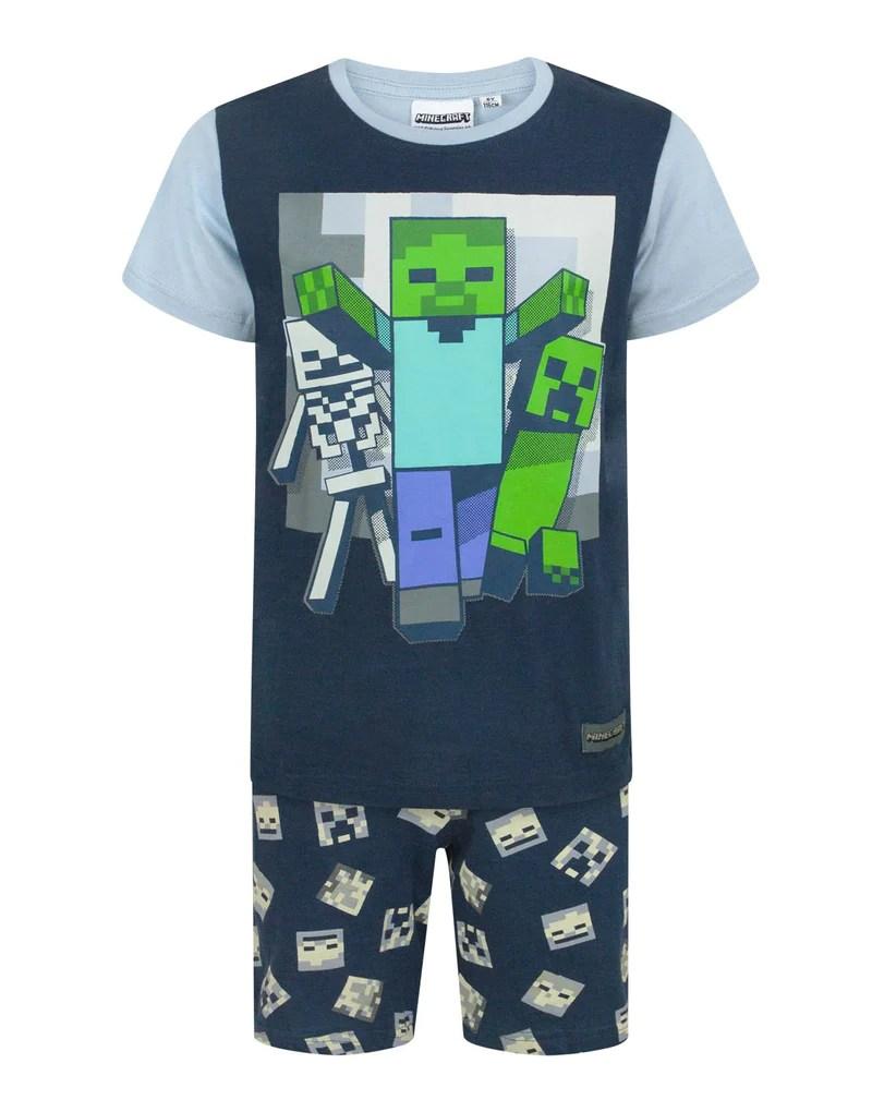 Minecraft Undead Boy' Pyjamas Vanilla Underground